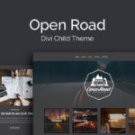 Open Road Child Theme for Divi WordPress Theme